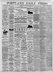 Portland Daily Press: November 5, 1875