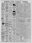 Portland Daily Press: November 6, 1875