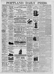 Portland Daily Press: November 8, 1875