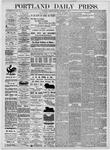 Portland Daily Press: November 9, 1875
