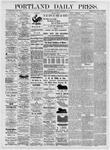 Portland Daily Press: November 10, 1875