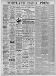 Portland Daily Press: November 11, 1875