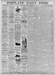 Portland Daily Press: November 13, 1875