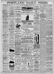 Portland Daily Press: November 15, 1875