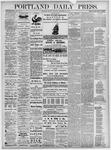 Portland Daily Press: November 22, 1875