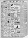 Portland Daily Press: November 29, 1875