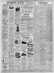 Portland Daily Press: December 1, 1875