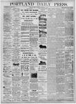 Portland Daily Press: December 3, 1875