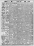 Portland Daily Press: December 8, 1875