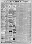 Portland Daily Press: December 11, 1875