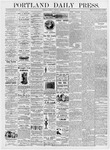Portland Daily Press: January 10, 1876