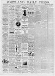 Portland Daily Press: January 11, 1876