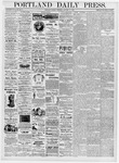 Portland Daily Press: January 17, 1876
