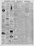 Portland Daily Press: January 20, 1876