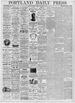 Portland Daily Press: January 25, 1876