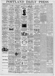Portland Daily Press: January 28, 1876