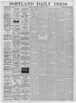 Portland Daily Press: February 11, 1876