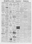 Portland Daily Press: February 12, 1876