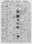 Portland Daily Press: February 14, 1876