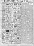 Portland Daily Press: February 15, 1876