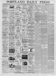 Portland Daily Press: February 16, 1876