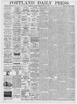 Portland Daily Press: February 19, 1876