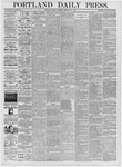 Portland Daily Press: February 25, 1876