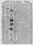Portland Daily Press: February 26, 1876