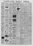 Portland Daily Press: February 29, 1876