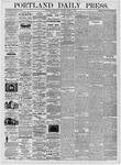 Portland Daily Press: March 1, 1876
