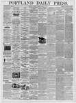 Portland Daily Press: March 2, 1876
