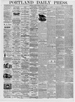 Portland Daily Press: March 3, 1876
