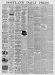 Portland Daily Press: March 4, 1876