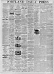 Portland Daily Press: March 6, 1876