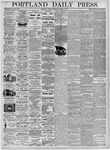Portland Daily Press: March 7, 1876