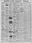 Portland Daily Press: March 8, 1876
