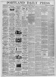 Portland Daily Press: March 9, 1876