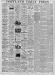 Portland Daily Press: March 10, 1876