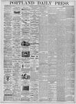 Portland Daily Press: March 11, 1876