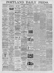 Portland Daily Press: March 13, 1876