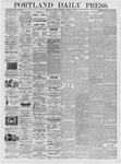 Portland Daily Press: March 14, 1876