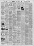 Portland Daily Press: March 15, 1876