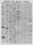 Portland Daily Press: March 16, 1876