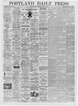 Portland Daily Press: March 17, 1876