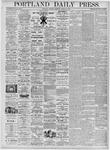 Portland Daily Press: March 18, 1876