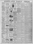 Portland Daily Press: March 21, 1876