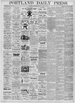 Portland Daily Press: March 22, 1876