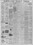 Portland Daily Press: March 25, 1876