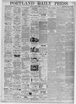 Portland Daily Press: March 27, 1876