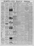 Portland Daily Press: March 28, 1876